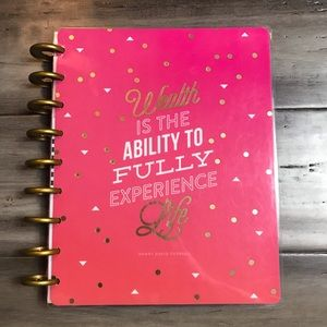 The Happy Planner Undated Budget Planner - Classic